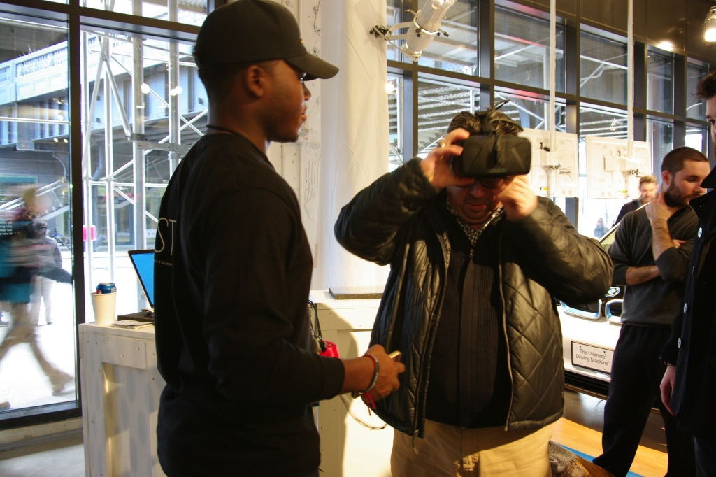 Oculus Rift at Wired Store